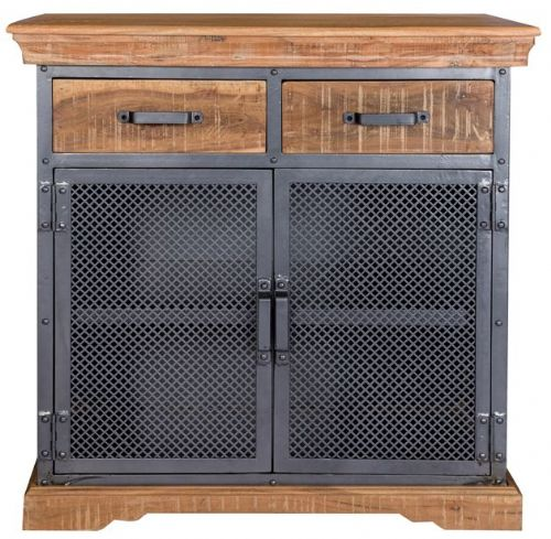 Metro Industrial 2 Door/ Drawer Sideboard